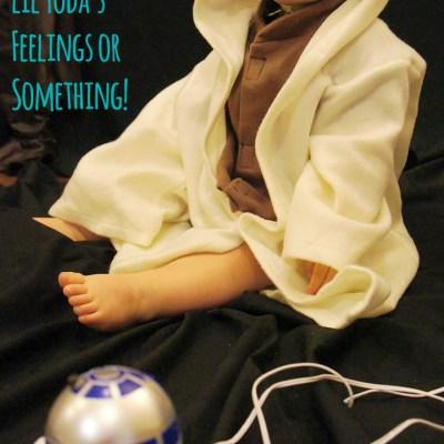 Wordless Wednesday w/ Linky! Sad Yoda