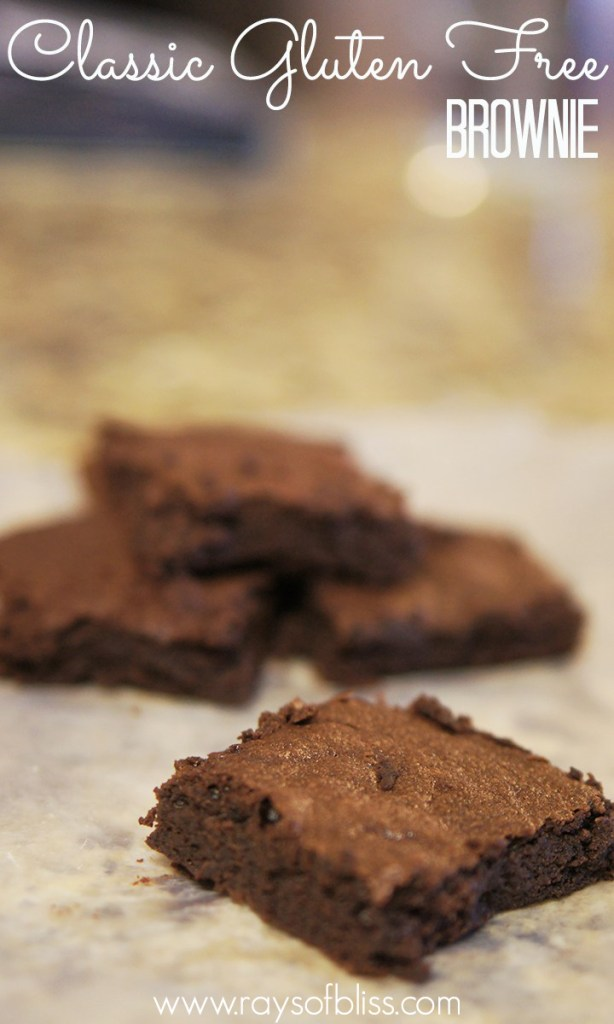 Gluten-free Brownies from scratch