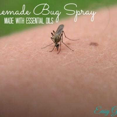 Essential Oils Homemade Bug Spray with Free Printable