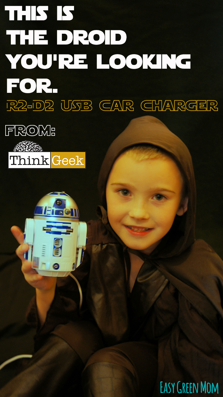 R2-D2 USB Car Charger: