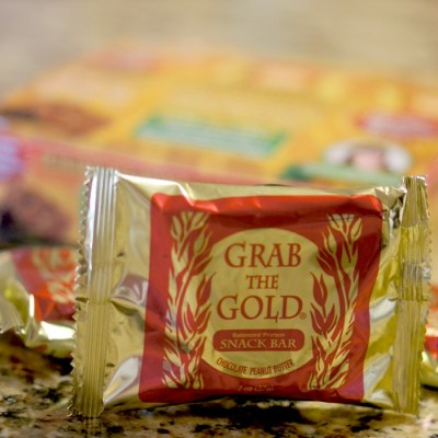 Grab the Gold ~ Gluten Free Balanced Protein Bar ~ Review