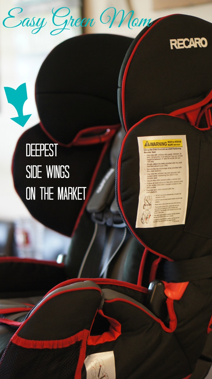 RECARO Performance SPORT deep wings