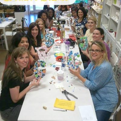 Sunshine Glaze Creative Studio DFW, Texas! Good & Crafty Fun!