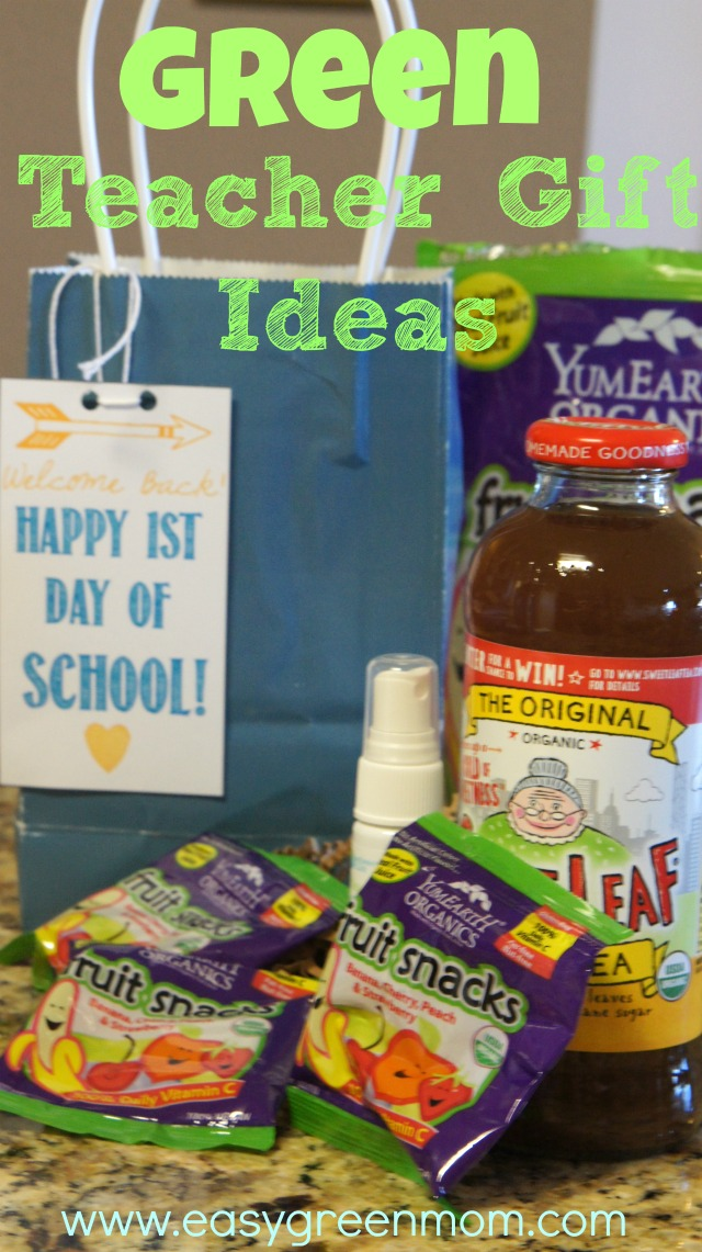 Green Teacher Gift Ideas #green #ecofriendly #organic