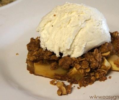 Gluten Free Apple Crisp Recipe from Sweet & Simple Gluten-Free Baking: Irresistible Classics in 10 Ingredients or Less!