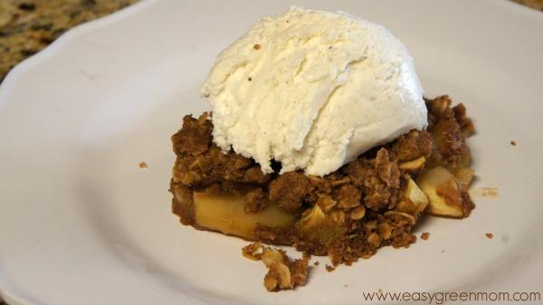 Gluten Free Apple Crisp Recipe from Sweet & Simple Gluten-Free Baking Cookbook