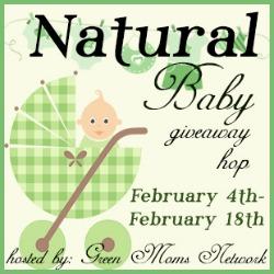 Blogger Sign Ups Natural Baby Giveaway Hop