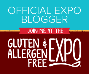 Gluten and Allergen Free Expo Blogger