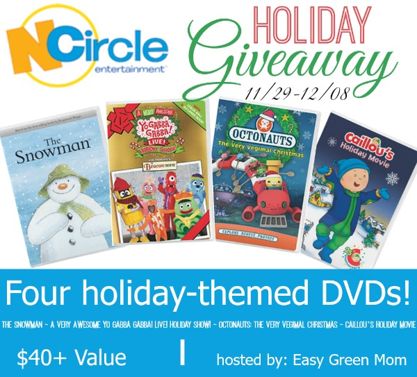 NCircle Holiday DVDs Giveaway
