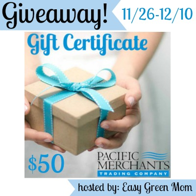 Pacific Merchants $50 Gift Certificate Giveaway