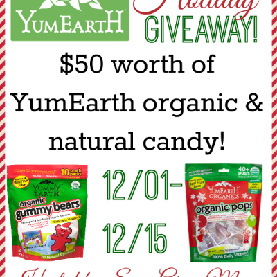 Blogger Sign Up: $50 YumEarth Holiday Giveaway Event