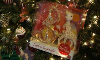 Celebrate Baby's First Christmas with Sophie the Giraffe