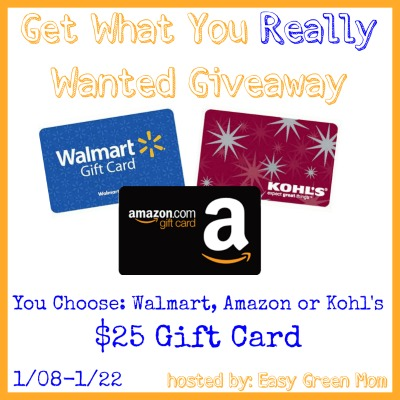 Get What You Really Wanted Giveaway