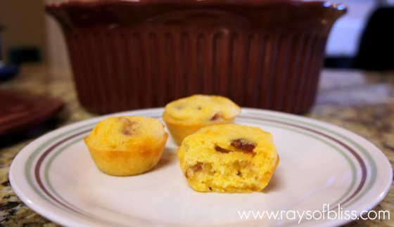 Gluten-Free Bacon Cornbread Muffins Recipe