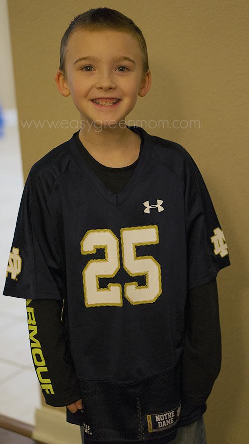 UA Notre Dame Boy Jersey