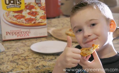 Udi's Gluten Free Uncured Pepperoni Pizza