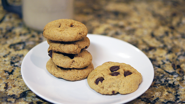 gluten-free Vanilla Pudding Chocolate Chip Cookies Recipe from rays of bliss
