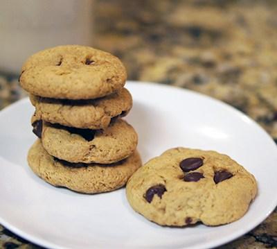 Gluten Free Vanilla Pudding Chocolate Chip Cookies