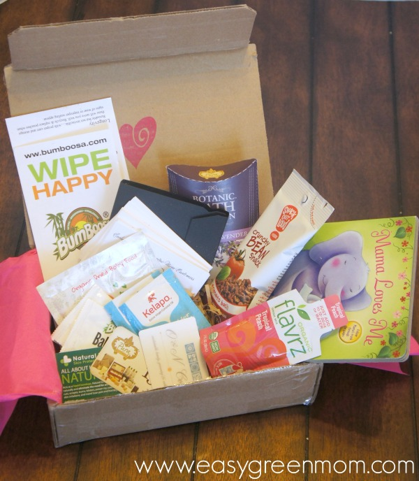 Ecocentric Mom & Baby Subscription Box ~ February 2015
