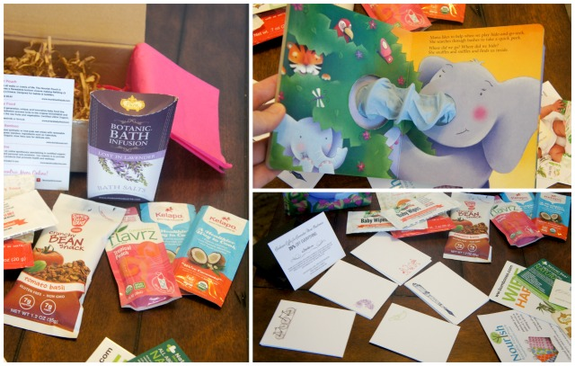 Ecocentric Mom & Baby Subscription Box feb. 2015