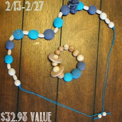 KattyMarket Beaded Teething/ Nursing Necklace and Bracelet Giveaway!