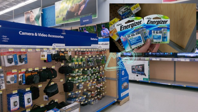 Energizer New EcoAdvanced Batteries #BringingInnovation #CollectiveBias Found in Walmart Electronics