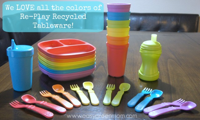 Re-Play Recycled Children's Tableware