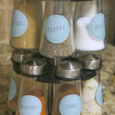 Spice Labels Free Printable