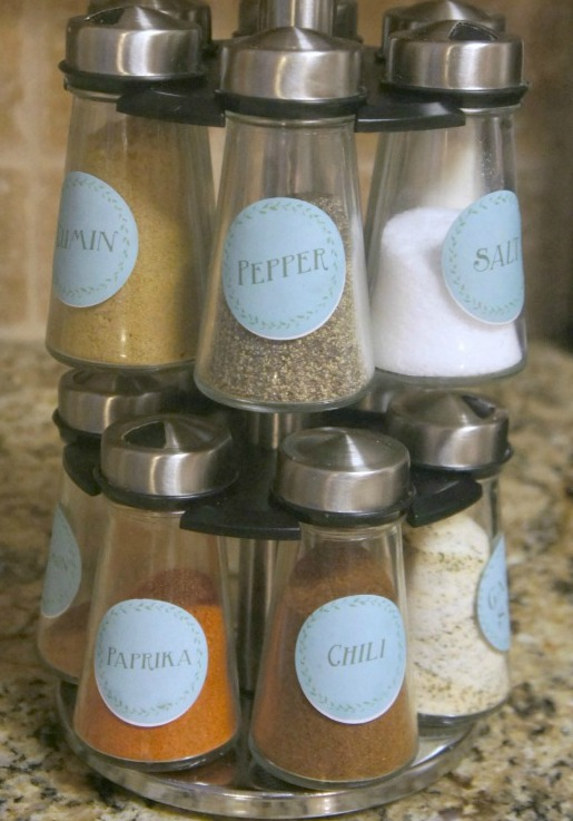 Spice Labels from rays of bliss
