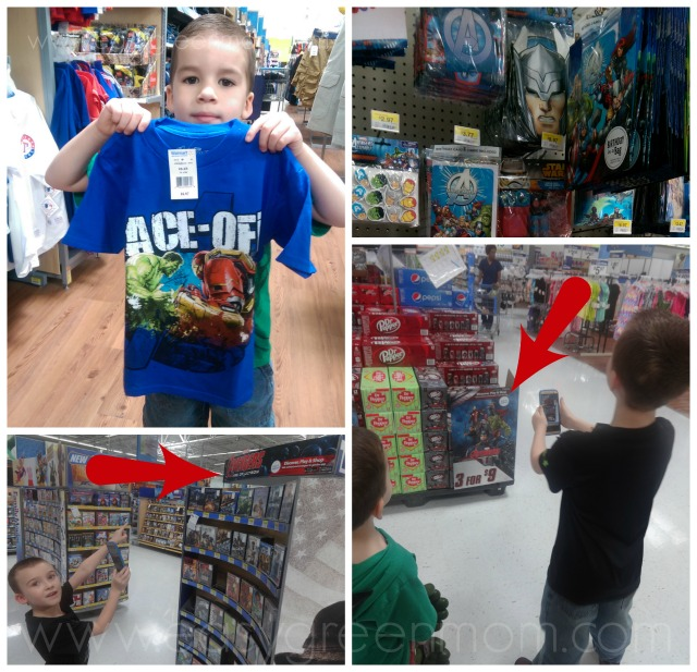MARVEL's The Avengers Age of Ultron Gear at Walmart. #AvengersUnite