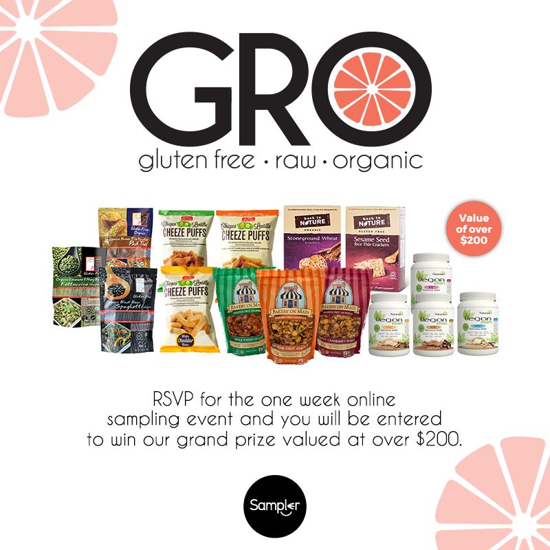#GROweek Event Giveaway Grand Prize Sampler