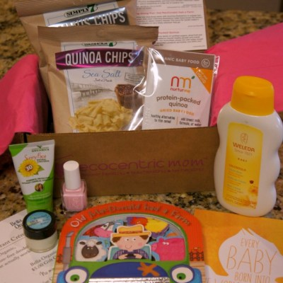 Ecocentric Mom & Baby Subscription Box ~ June 2015