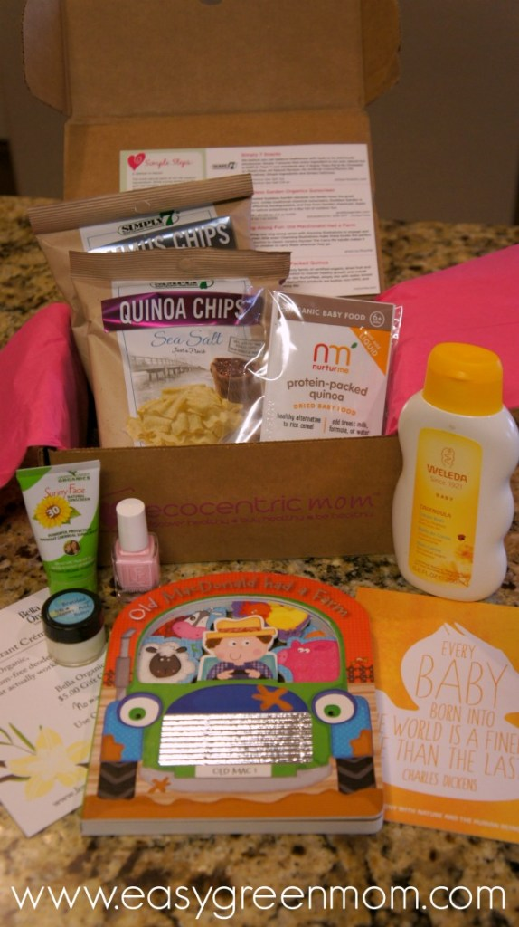Ecocentric Mom box june