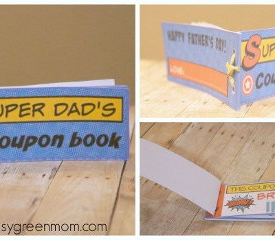 Super Dad Father's Day Coupon Book ~ Free Printable