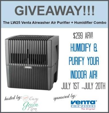 Venta Airwasher LW25 Giveaway Event