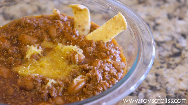 Easy Chili Recipe for Frito Pie