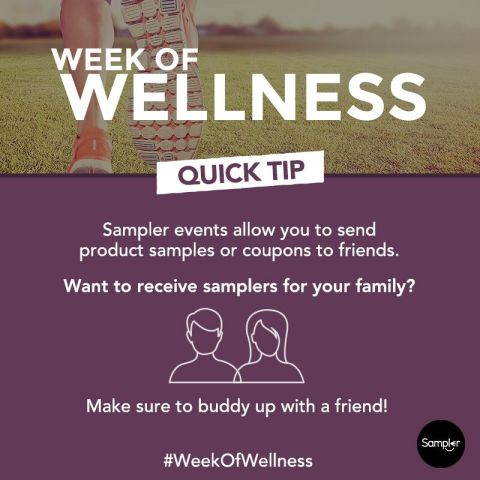 #WeekOfWellness Tip