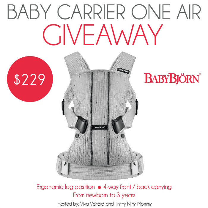 BabyBjorn Giveaway