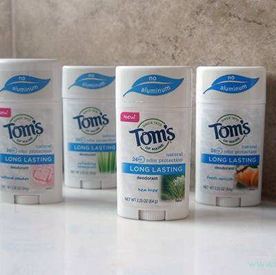 Tom's of Maine #WhyISwitched #DeoSwitch + Giveaway!