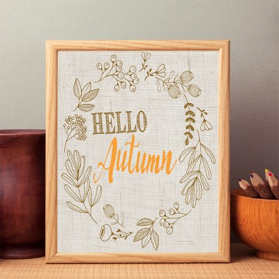 Hello Autumn 8×10 Free Printable