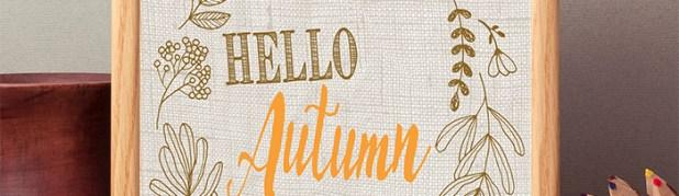 Hello Autumn 8×10 Free Printable