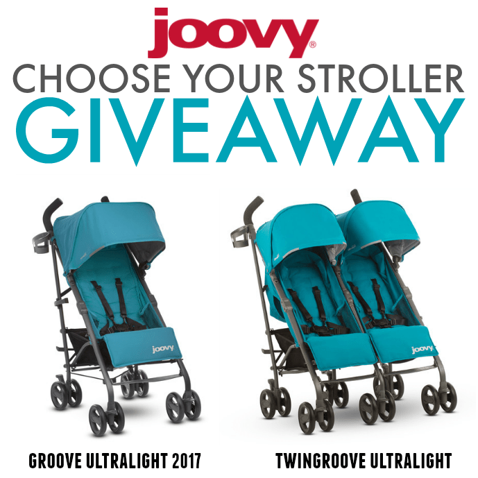 Joovy Stroller Giveaway