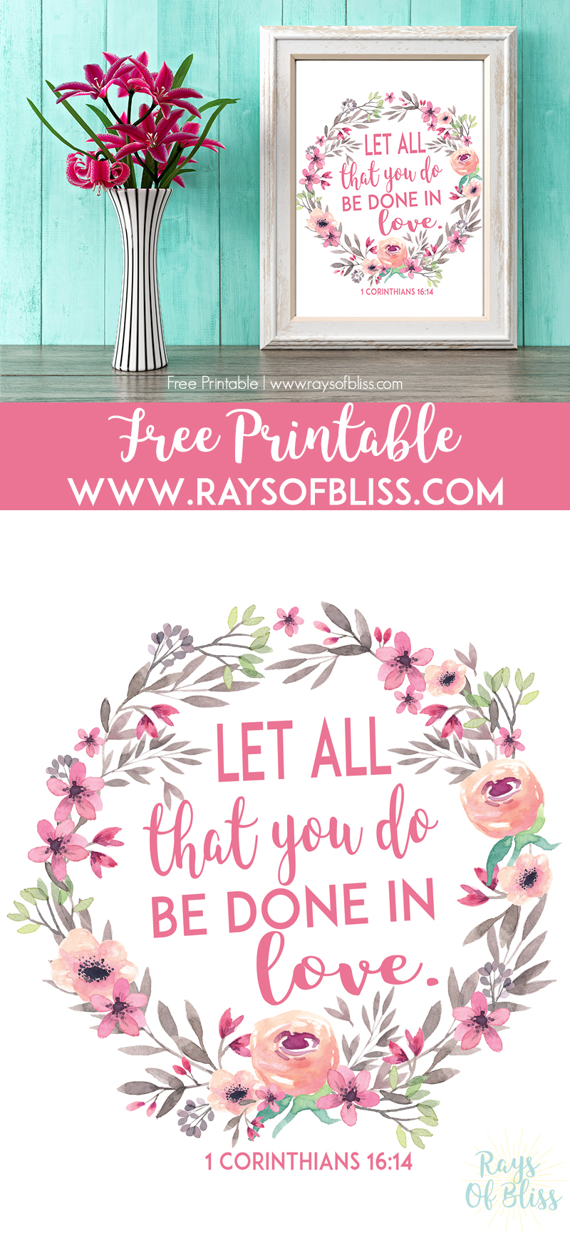 image regarding Free Printable Bible Verses to Frame identified as Children Bible Verses Absolutely free Printables - Established of 4 - Rays of Bliss