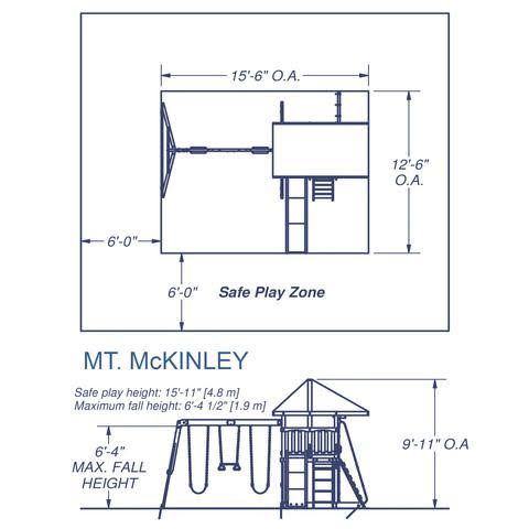 Mount McKinley Wooden Swing Set Giveaway