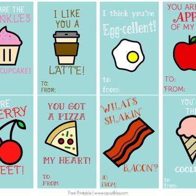 Food Pun Cards | Free Printable