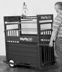 Hog Scale, 4ft, Mechanical, with optional Wheel & Handle Kit