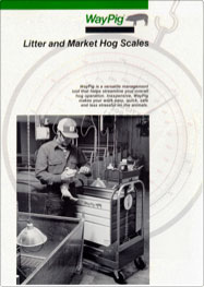 WayPig Litter & Market Hog Scale Brochure