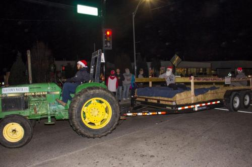 Hayride provided by Raytown Water Department