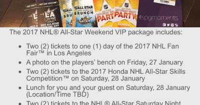 SPG Moments Review: 2017 NHL All-Star Weekend VIP Experience in LA