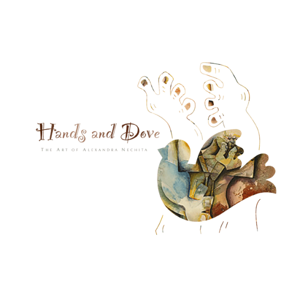Hands and Dove